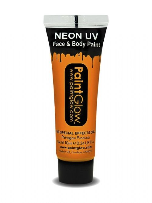 Neon UV - Face and Body Paint - Orange 1